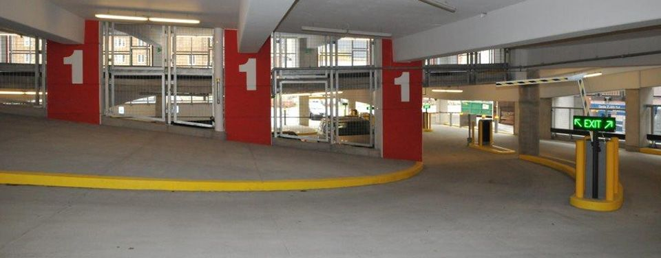 parking garage inside